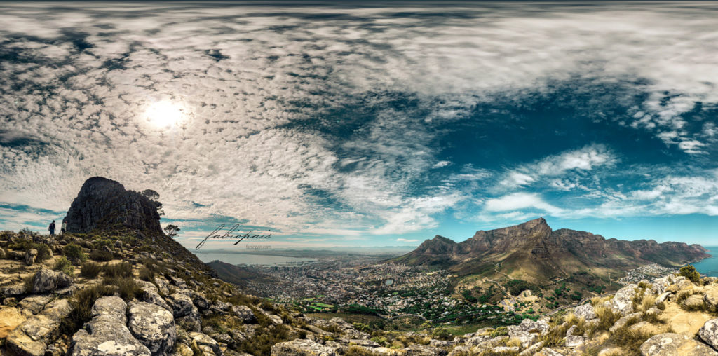 Lion's Head View of Table Mountain