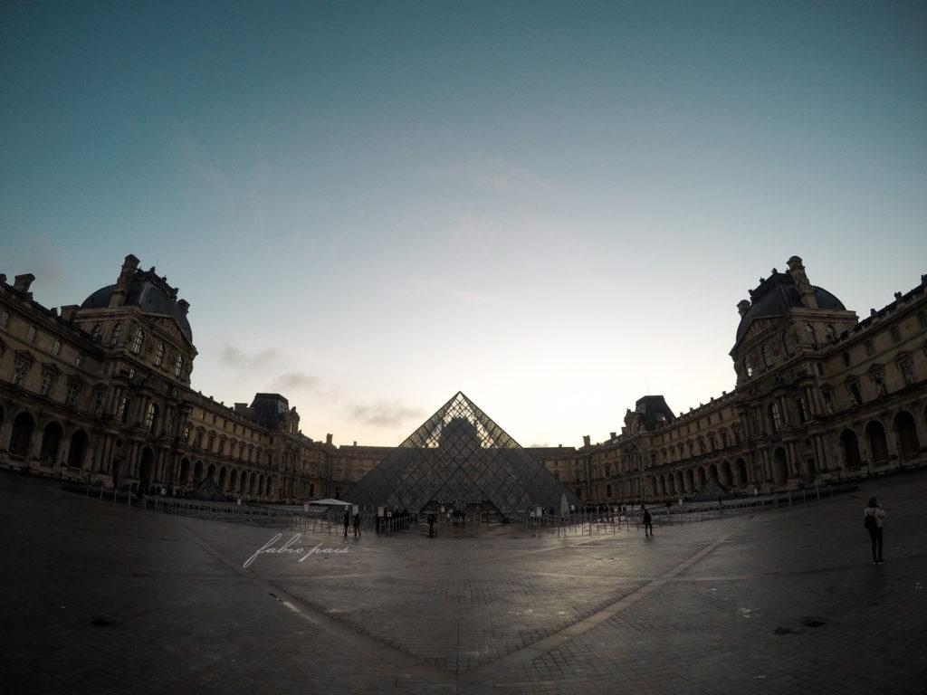 The Louvre Pyramid Paris
