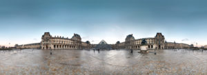 The Louvre Panoramic Paris