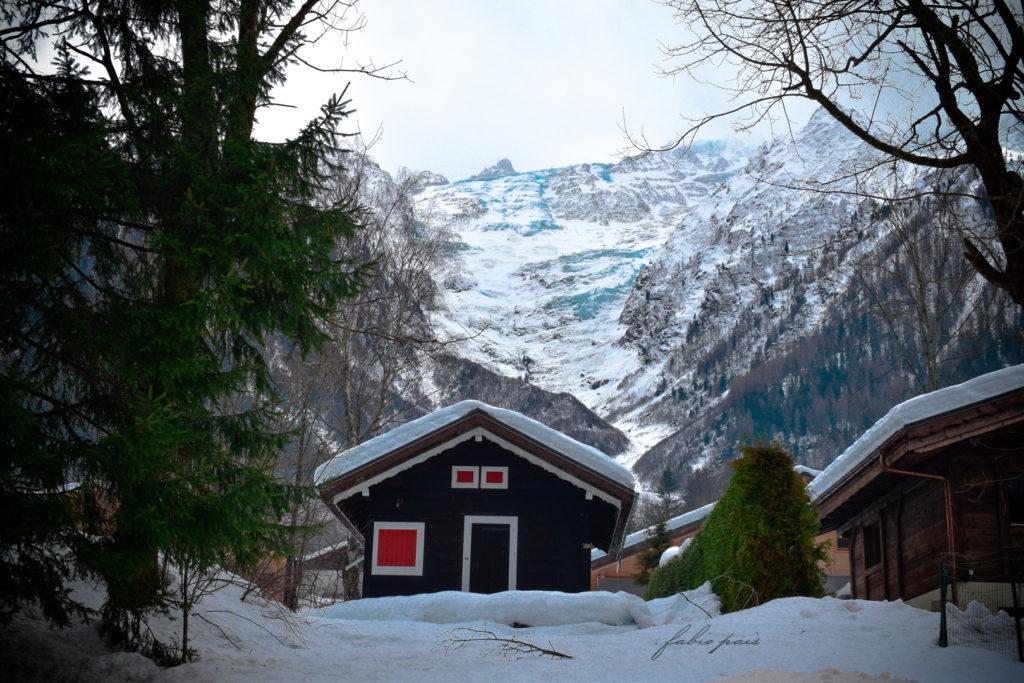 Les Bosson Glacier